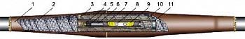 Соединительные муфты для многожильных кабелей 20-35 кВ с пластмассовой изоляцией