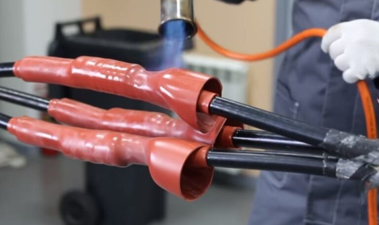 Как устанавливается термоусаживаемая муфта?